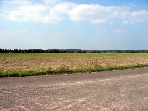 Blick von unserem Standort in Richtung Norden
