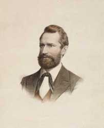 Portrait Ludwig Leichhardts (1813 - 1848) in der National Library of Australia