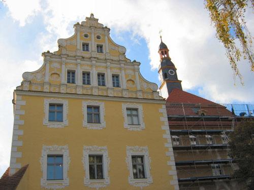Lübbener Schloss mit neuem Gesicht