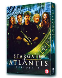 Stargate Atlantis Staffel 4 - Box