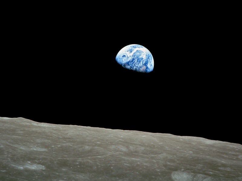Erdaufgang - Apollo 8 © NASA