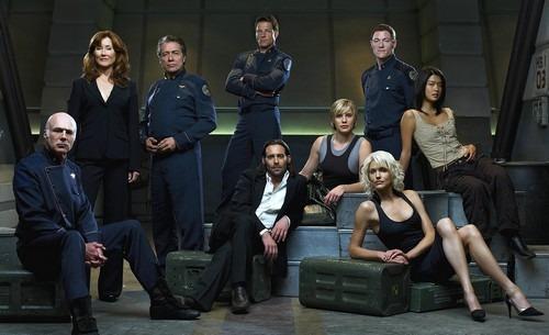 Battlestar Galactica Season 3 Cast © SciFi.com