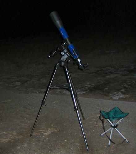 Das Lidlscope im Einsatz
