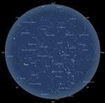 Der Sternhimmel im Februar 2009