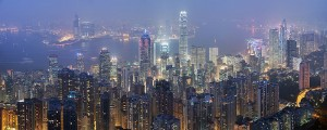 Hong Kong Skyline © David Iliff