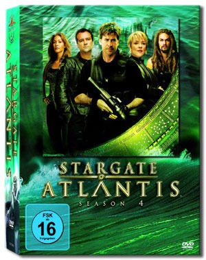 Stargate Atlantis Staffel 4 DVD im Mai