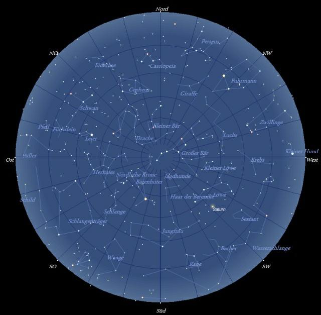 Der Sternhimmel im Mai 2009