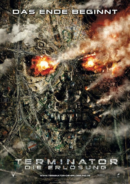 Terminator 4 Filmplakat © Sony Pictures
