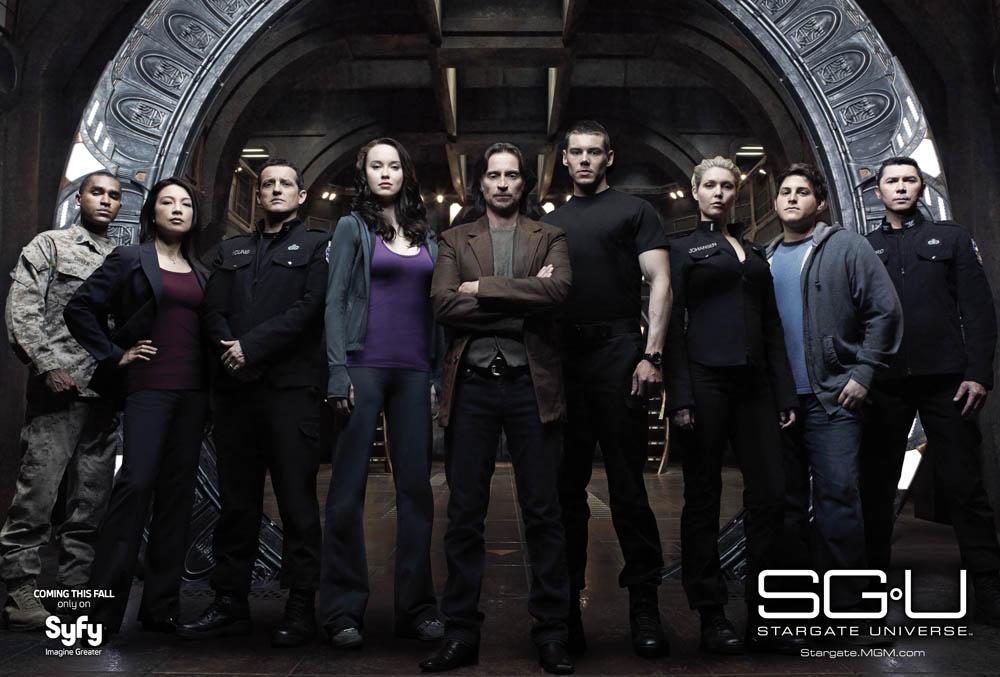 Stargate Universe Cast © Syfy