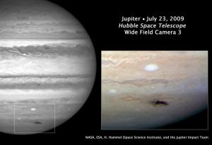 HST Aufnahme vom 23. Juli 2009