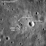 Tranquility Base LRO © NASA