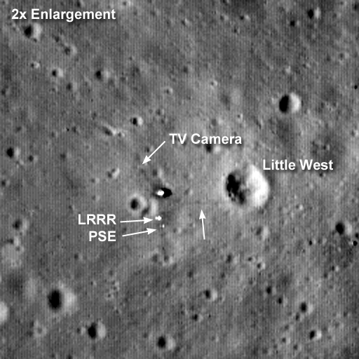 Tranquility Base LRO © NASA