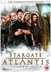 Stargate Atlantis Season 5 - Cover der UK-Ausgabe
