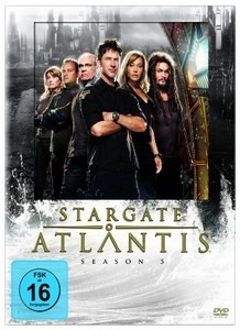 Stargate Atlantis Season 5 - DVD-Cover