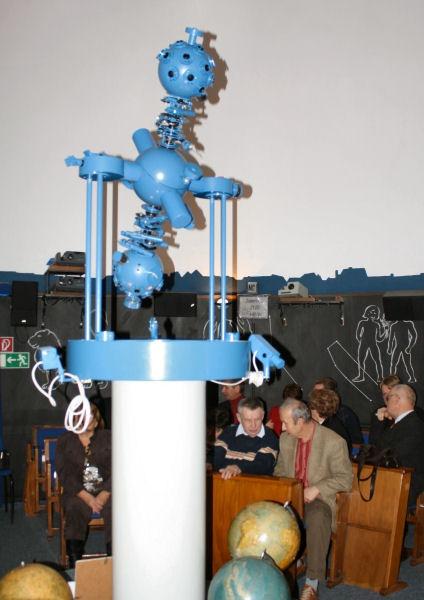 Kuppelraum des Planetarium in Herzberg
