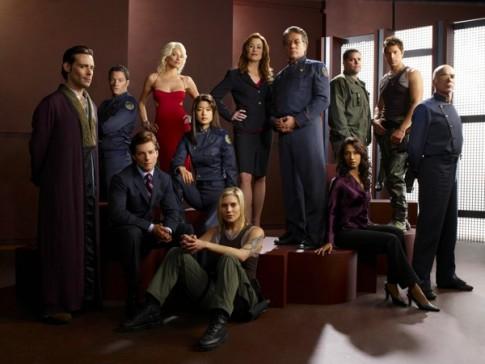 Battlestar Galactica Season 4 Cast © Syfy.com