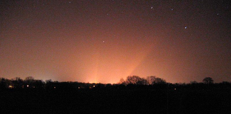 Zum Thema Lichtverschmutzung