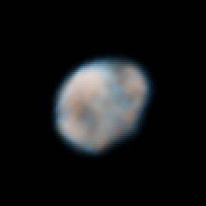 Vesta - Hubble-Aufnahme vom 14. und 16. Mai 2007