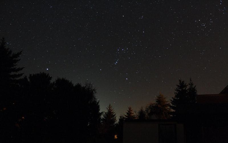Das Sternbild Orion