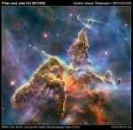 Pillar and Jets HH901/902 © NASA, ESA, STScI