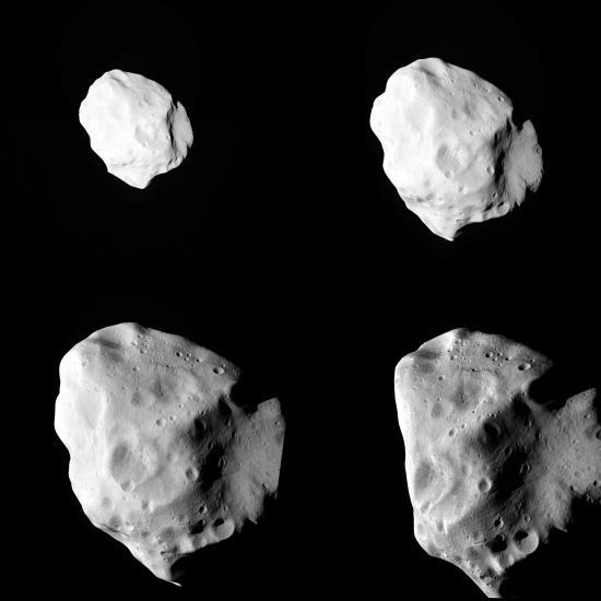 Rosetta trifft (21) Lutetia