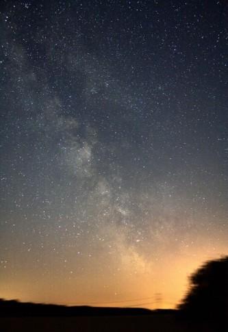 Die Sommermilchstraße am 9. Juli 2010