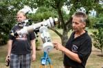 Sonnenbeobachtung mit dem H-Alpha-Teleskop
