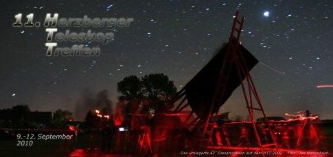 Auf zum 11. Herzberger Teleskoptreffen
