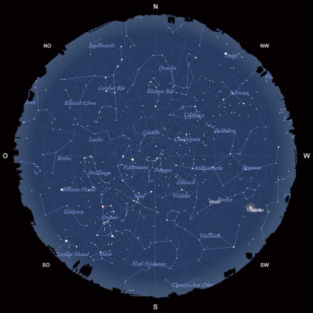 Der Sternhimmel im Dezember 2010