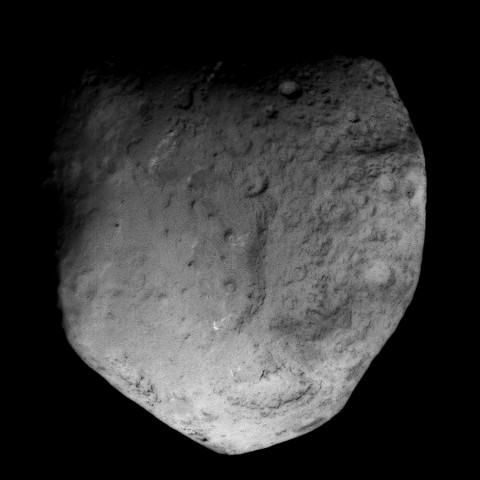 Komet 9P/Tempel 1 © NASA/JPL