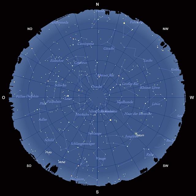 Der Sternhimmel im Juni 2011