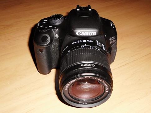 Meine neue Canon EOS 600D