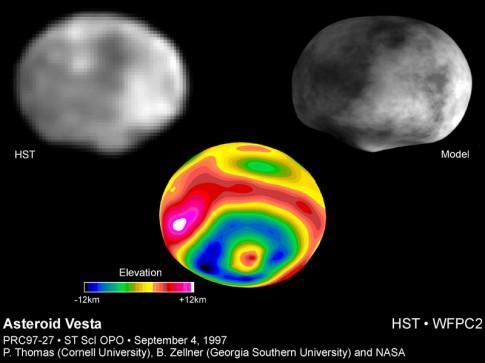 Vesta © Cornell University, Georgia Southern University & NASA