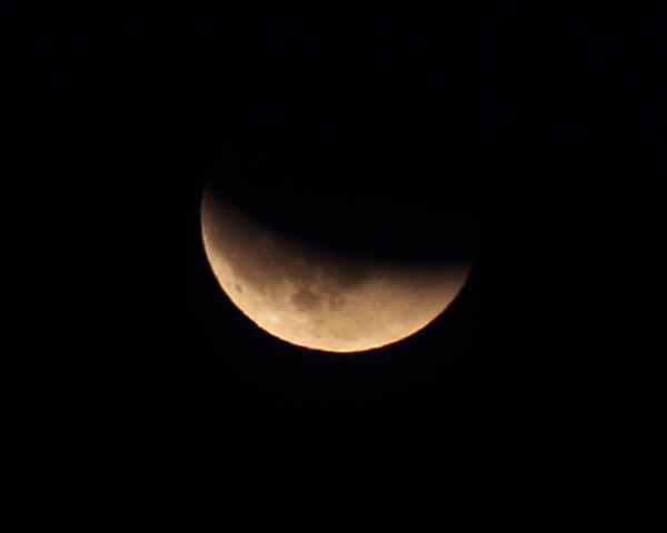 Bilder von der Mondfinsternis vom 10. Dezember