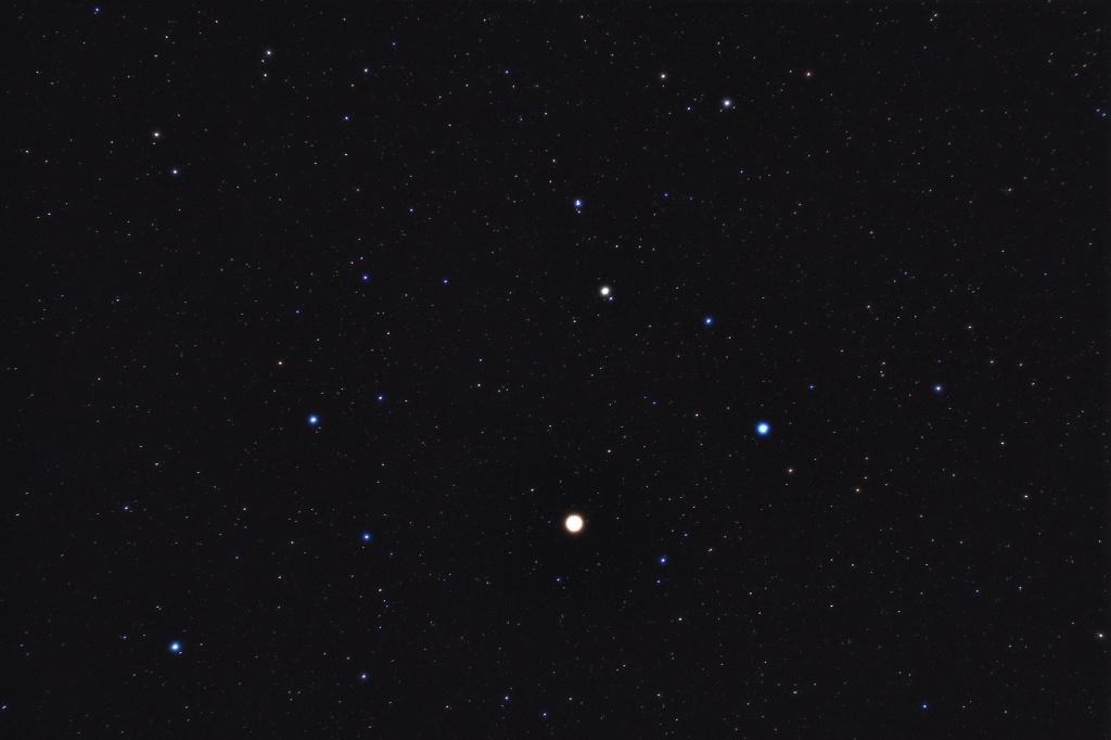 Mars im Sternbild Löwe