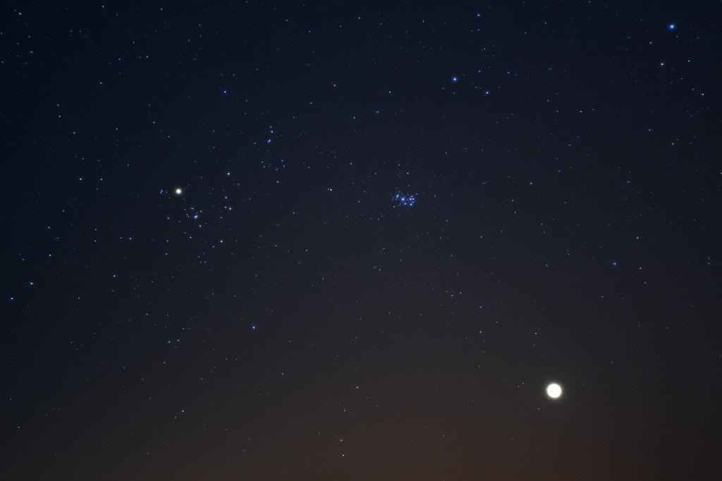 Hyaden, Plejaden & Venus