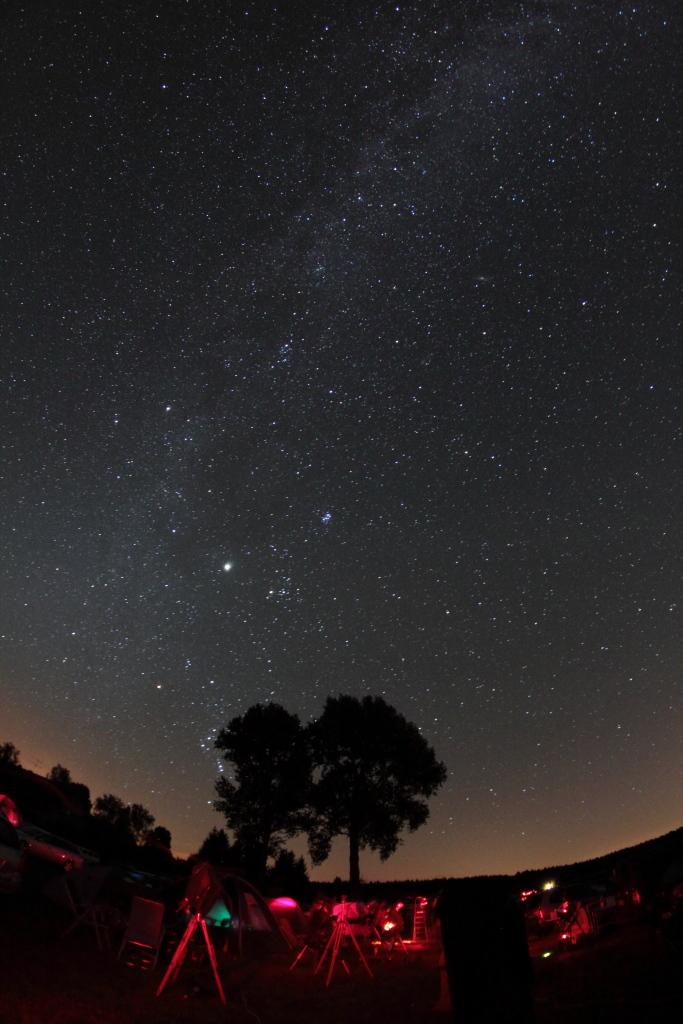 Die Südkurve bei Nacht