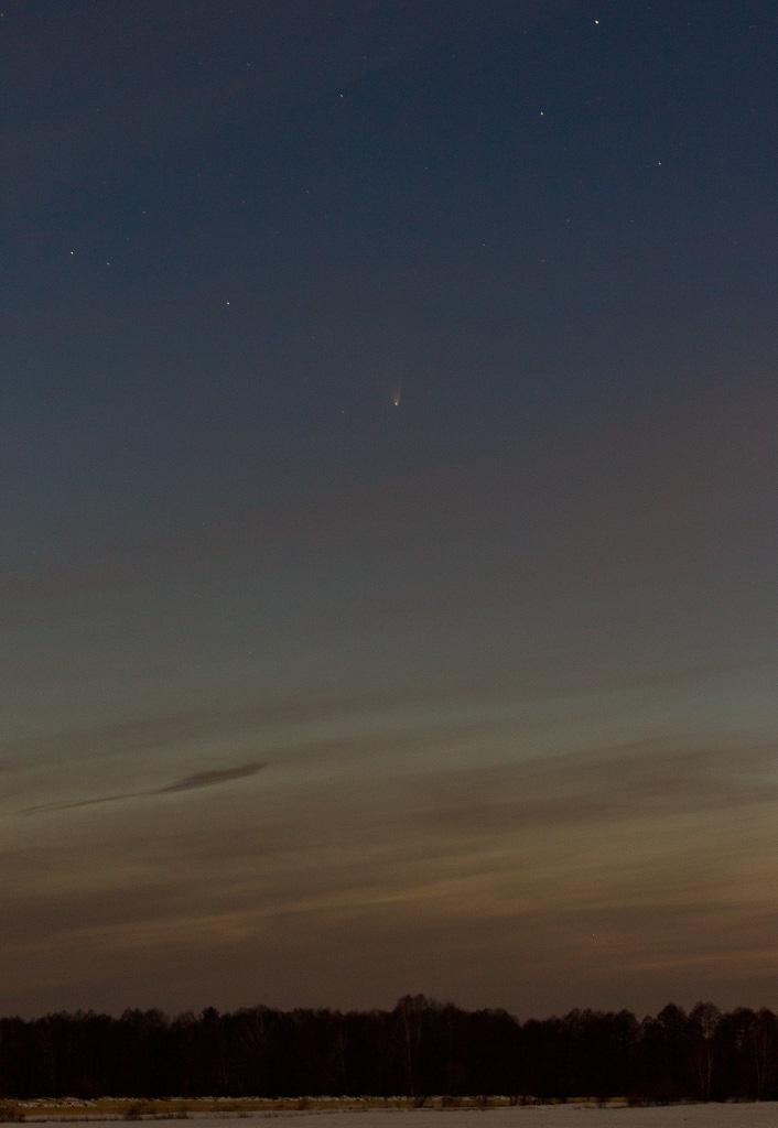 Komet Panstarrs am 23. März