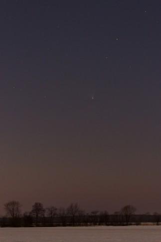 Komet PANSTARRS am 24. März 2013