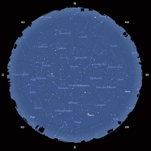 Der Sternhimmel im Juni 2013