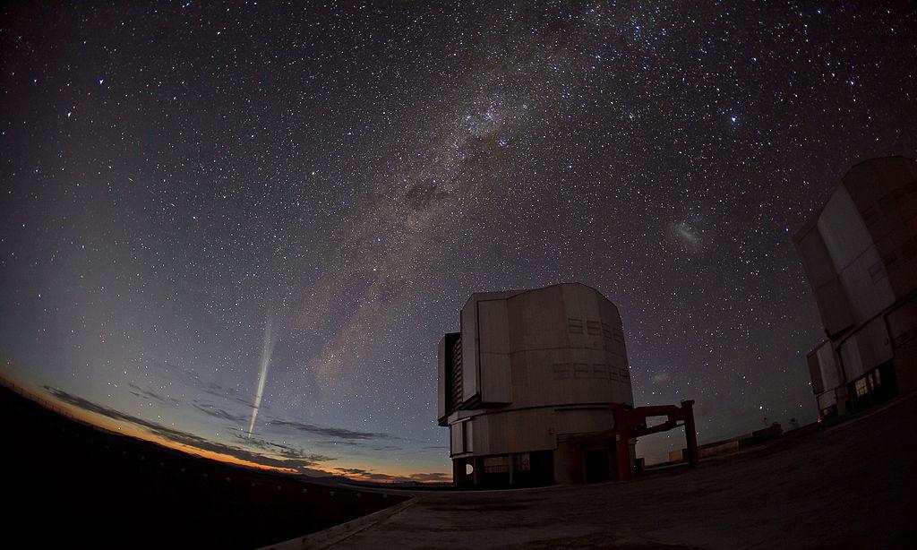 Komet Lovejoy am 24. Dezember 2011