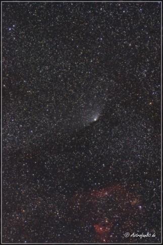Komet C/2011 L4 PANSTARRS am 6. Mai 2013 im Sternbild Kepheus