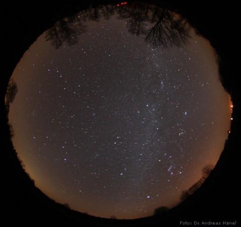 Der Sternhimmel über dem Naturpark Westhavelland © Andreas Hänel