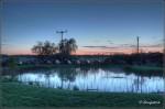 Das 17. Südbrandenburger Sternfreundetreffen in der Abenddämmerung (HDR-Aufnahme)