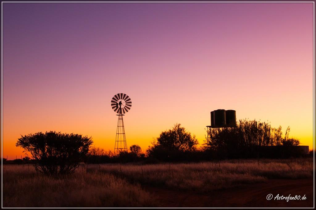 Farbenprächtiger Sonnenuntergang
