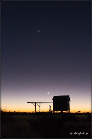 Mondsichel & Venus