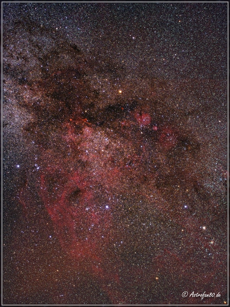 Weitere Astrofotos des Südhimmels mit der AstroTrac