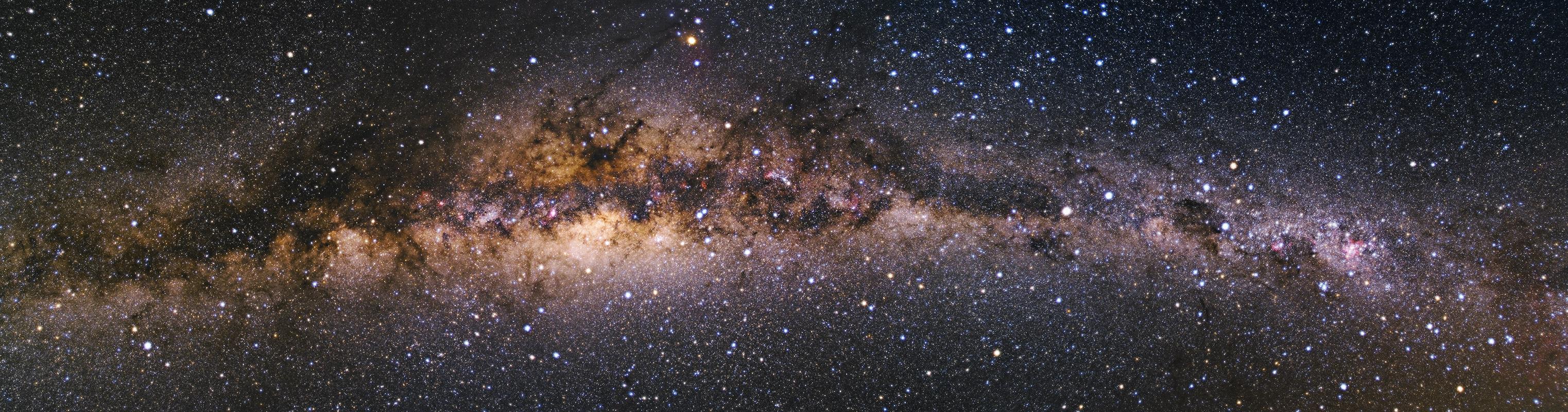 Tivoli Milchstraßenpanorama
