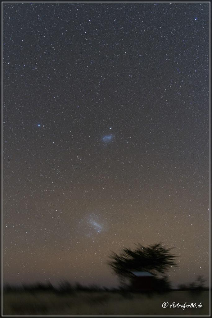 Große und Kleine Magellansche Wolke