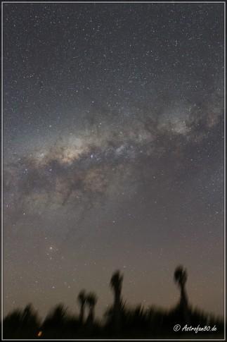 Milchstraße über Tivoli